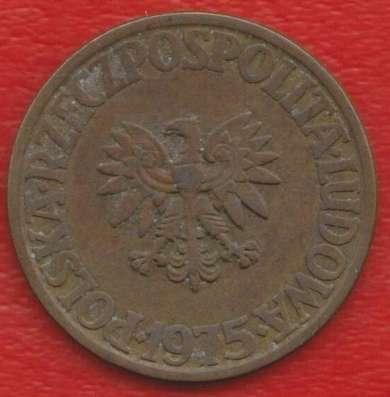Польша 5 злотых 1975 г. без знака мондвора