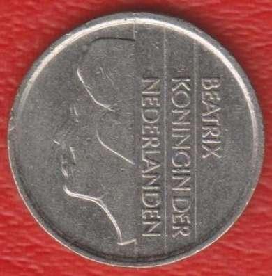 Нидерланды Голландия 25 центов 1992 г
