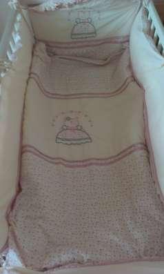 Детская кроватка Хенсвик (икея)+ матрац+бортики в Екатеринбурге Фото 1