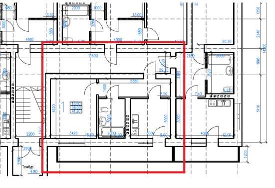 2-уровневая, 3-к квартира, 97 м², 3/4 эт