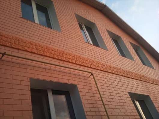 Фасадные декоративные панели с утеплителем полистирол