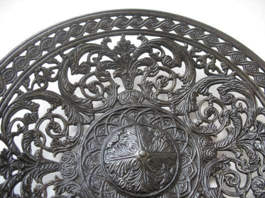 Касли 1907.Тарелка ажурная