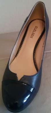 Туфли синие новые, р-38