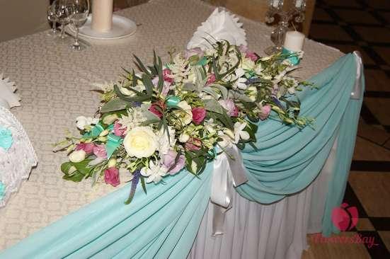 Оформление свадеб, мероприятий цветами, флористика в Москве Фото 1