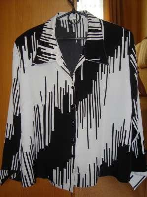 Блузки женские большой размер