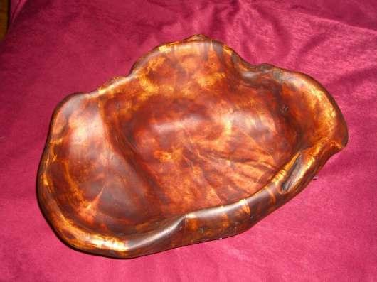 Фруктовница из свиля березы