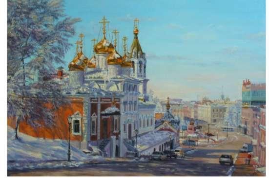 Картины с нижегородскими видами