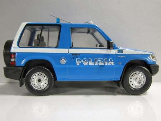 Полицейские машины мира спец. выпуск №4 MITSUBISHI PAJERO