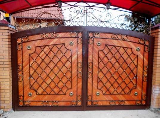 Кованые изделия (ограждения, ворота, решетки, мебель) в Обнинске Фото 2