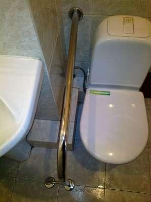 Поручни для инвалидов из полированной нержавеющей стали в Краснодаре Фото 2