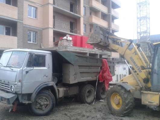 Вывоз мусора веток самосвалом 10м3