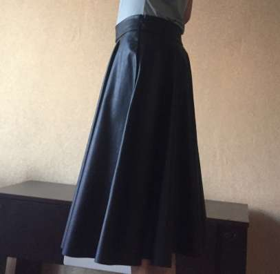 Кожаная юбка Zara, размер s в Москве Фото 1
