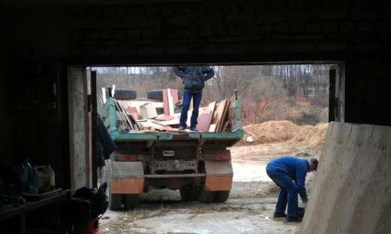 Вывоз мусора и хлама из гаража на свалку