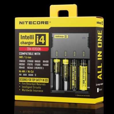 Зарядное устройство NiteCore Intellicharge i4 V2
