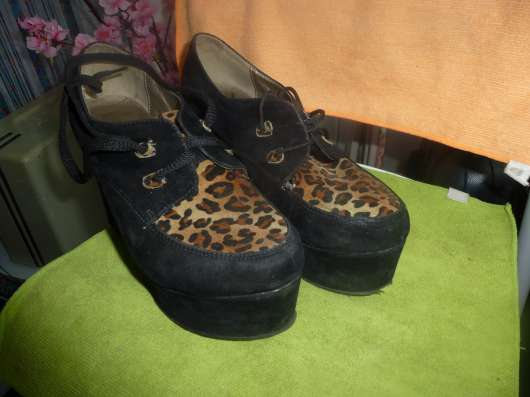 туфли на платформе черные размер 39 в г. Кременчуг Фото 1