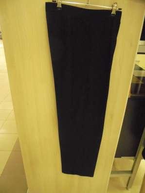 Брюки классические черные, размер 48
