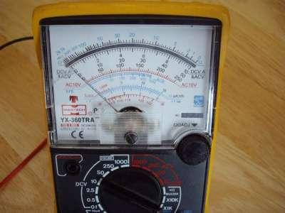 Мультиметр Mastech YX-360TRA Аналоговый в Челябинске Фото 1