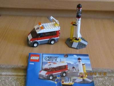 игрушку Лего сити Пусковая платформа