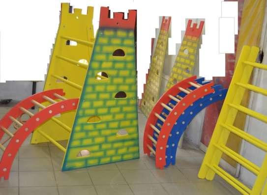 Башня-стенка для лазания с канатом от производителя