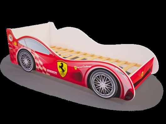 Кроватки-машинки детские
