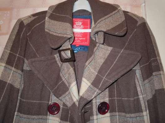 Пальто edc by Esprit шоколадная клетка в г. Чернигов Фото 5