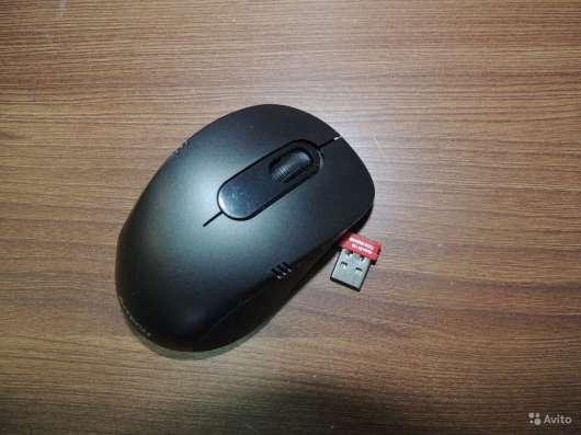Беспроводные клавиатура + мышь A4Tech