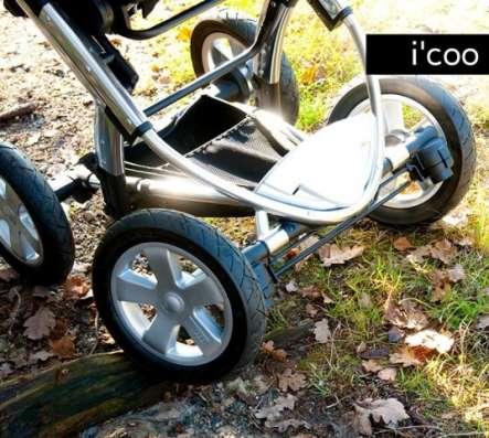 Детская коляска 3 в1 с музыкальной системой MP3