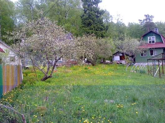 Продам участок с дачей в 5 км от г Выборга