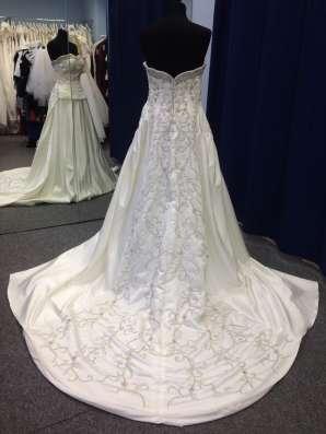 Авторское свадебное платье ручной работы в Москве Фото 2