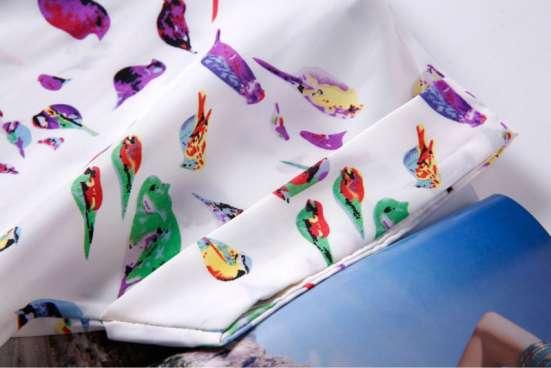 Яркая блузка с птичками в г. Киев Фото 4
