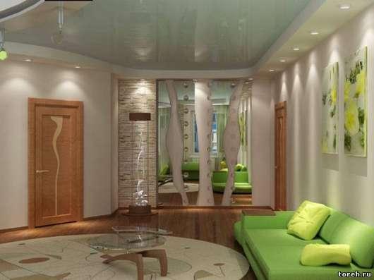 Потолки натяжные - Ремонт квартир в Иркутске Фото 2